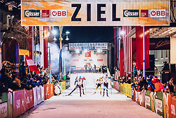 17.01.2020, Hauptplatz, Lienz, AUT, Dolomitenlauf, Dolomitensprint, im Bild Michael Föttinger (AUT) // during the Dolomitenlauf Dolomitensprint at the main square, Lienz, Austria on 2020/01/17, EXPA Pictures © 2020 PhotoCredit: EXPA/ Dominik Angerer