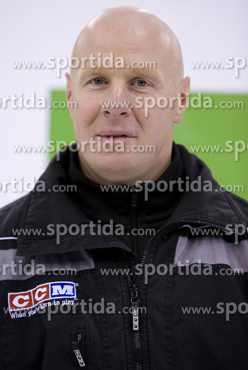 Assistant coach Bojan Zajc of HDD Tilia Olimpija before new season 2008/2009,  on September 17, 2008 in Arena Tivoli, Ljubljana, Slovenia. (Photo by Vid Ponikvar / Sportal Images)