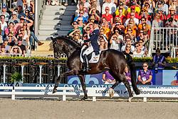 NILSHAGEN Therese (SWE), DANTE WELTINO OLD<br /> Rotterdam - Europameisterschaft Dressur, Springen und Para-Dressur 2019<br /> Longines FEI Dressage European Championship <br /> Grand Prix Special<br /> 22. August 2019<br /> © www.sportfotos-lafrentz.de/Stefan Lafrentz