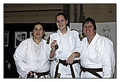 London Millennium Judo Festival. Sat 11-2-2006. Ladies and Girls Medal Presentations
