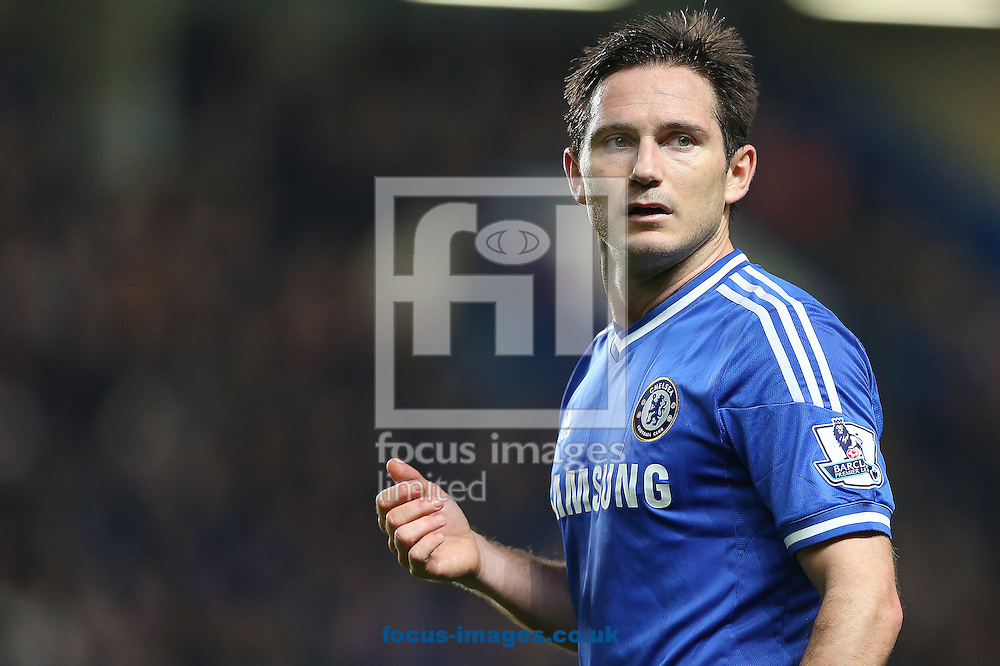 Picture by Richard Calver/Focus Images Ltd +447792 981244<br /> 01/12/2013<br /> Frank Lampard of Chelsea during the Barclays Premier League match against Southampton at Stamford Bridge, London.