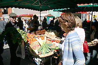 Local market, for editorial use only