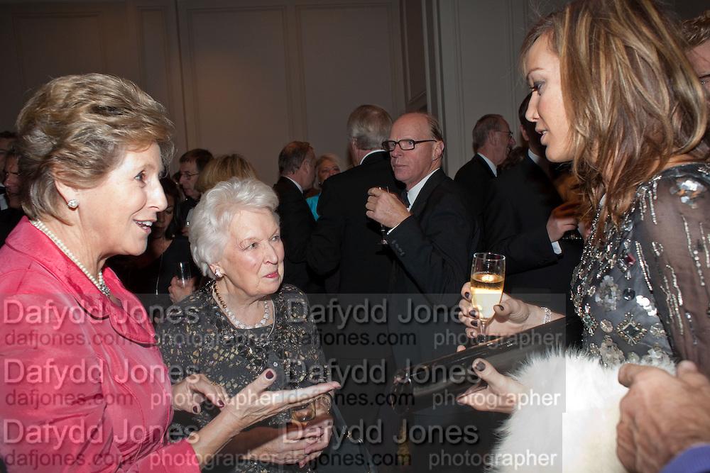 DAME NORMA MAJOR; TARA PALMER-TOMPKINSON, 80th anniversary gala dinner for the FoylesÕ Literary Lunch. Ballroom. Grosvenor House Hotel. Park Lane. London. 21 October 2010. -DO NOT ARCHIVE-© Copyright Photograph by Dafydd Jones. 248 Clapham Rd. London SW9 0PZ. Tel 0207 820 0771. www.dafjones.com.<br /> DAME NORMA MAJOR; TARA PALMER-TOMPKINSON, 80th anniversary gala dinner for the Foyles' Literary Lunch. Ballroom. Grosvenor House Hotel. Park Lane. London. 21 October 2010. -DO NOT ARCHIVE-© Copyright Photograph by Dafydd Jones. 248 Clapham Rd. London SW9 0PZ. Tel 0207 820 0771. www.dafjones.com.