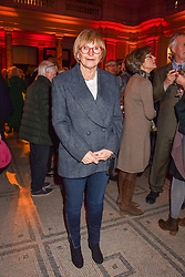 Anne Robinson at the Mary Quant VIP Preview at The Victoria & Albert Museum, London, England. 03 April 2019. <br /> <br /> ***For fees please contact us prior to publication***