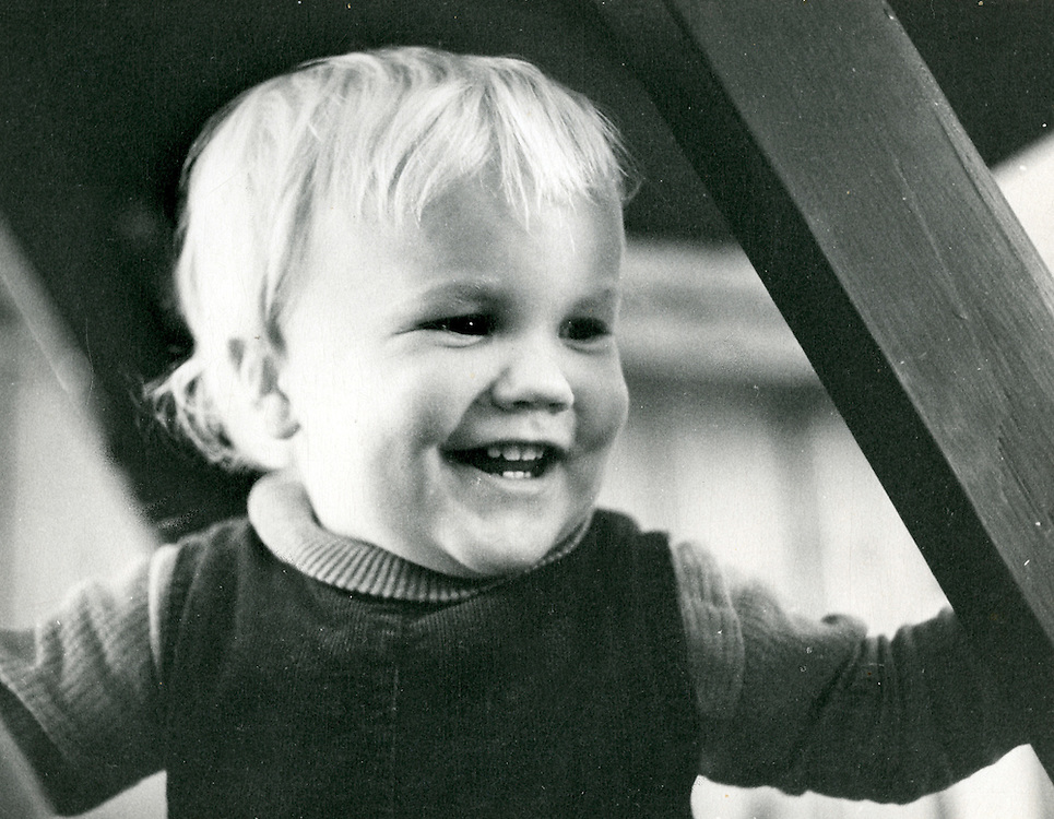 Photo of Roger as a young boy.
