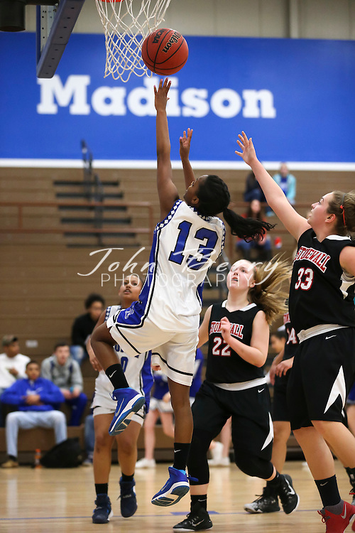 February 01, 2016.  <br /> MCHS JV Girls Basketball vs Stonewall Jackson.