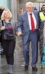 Rolf Harris arriving with his daughter Bindi at Southwark Crown Court in  London, Thursday, 8th May 2014. Picture by Stephen Lock / i-Images