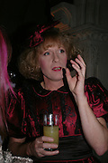 Grayson Perry. Great Britons 2004. Royal Courts Of Justice, London, WC2, 27 january 2005.  ONE TIME USE ONLY - DO NOT ARCHIVE  © Copyright Photograph by Dafydd Jones 66 Stockwell Park Rd. London SW9 0DA Tel 020 7733 0108 www.dafjones.com