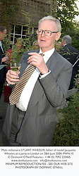 Multi millionaire STUART WHEELER, father of model Jacquetta Wheeler, at a party in London on 28th June 2004.PWN 10