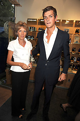 LADY JANE SPENCER-CHURCHILL and the HON.ALEXANDER SPENCER-CHURCHILL at the Natural Beauty Honours 2008 hosted by Neal's Yard Remedies, 124b King's Road, London SW3 on 4th September 2008.<br /> <br /> NON EXCLUSIVE - WORLD RIGHTS