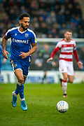 Gillingham FC forward Jordan Roberts (10) during the EFL Sky Bet League 1 match between Gillingham and Doncaster Rovers at the MEMS Priestfield Stadium, Gillingham, England on 15 February 2020.