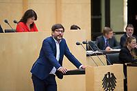 DEU, Deutschland, Germany, Berlin,22.09.2017: Berlins Justizsenator Dr. Dirk Behrendt (Grüne) bei einer Rede im Bundesrat.