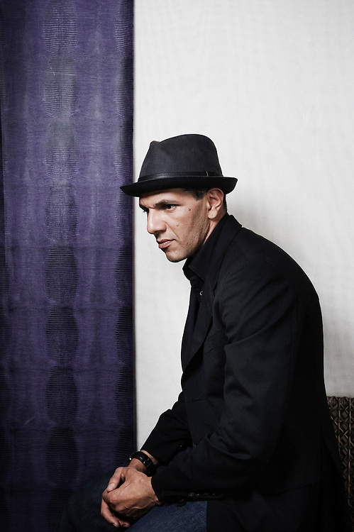 Hors La Loi's actor Roschdy Zem at the 63rd Cannes Film Festival. France. 21 May 2010. Photo: Antoine Doyen