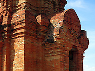 Po Sah Inu Cham Tower in Phan Thiet, Binh Thuan Province, Vietnam, Southeast Asia