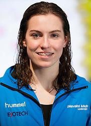Nastja Govejsek during swimming competition Dr.Fig Kranj 2013 on January 19, 2013 in Olympic pool, Kranj Slovenia. (Photo By Vid Ponikvar / Sportida)