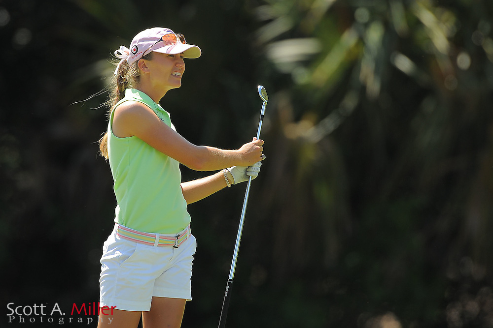 Megan McChrystal during the final round of the Symetra Tour's Florida's Natural Charity Classic at the Lake Region Yacht and Country Club on March 25, 2012 in Winter Haven, Fla. ..©2012 Scott A. Miller.