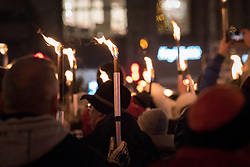 "10 December 2017, Oslo, Norway: In the evening of 10 December some 4,000 people from around the world gathered in central Oslo for a torch light march for peace. The event took place after the Nobel Peace Prize award 2017, awarded to the International Campaign to Abolish Nuclear Weapons (ICAN), for ""its work to draw attention to the catastrophic humanitarian consequences of any use of nuclear weapons and for its ground-breaking efforts to achieve a treaty-based prohibition of such weapons"". Among the crowd were more than 20 ""Hibakusha"", survivors of the atomic bombings in Hiroshima and Nagasaki, as well as a range of activists, faith-based organizations and others who work or support work for peace, in one or another way."