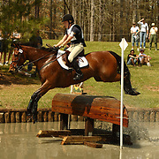 Jessica Hampf (CAN) and High Society III at Poplar Place Spring Horse Trials held in Hamilton, Georgia