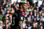Crystal Palace defender Patrick van Aanholt in action during the Premier League match between Brighton and Hove Albion and Crystal Palace at the American Express Community Stadium, Brighton and Hove, England on 29 February 2020.