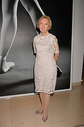 Mary Berry at the Giselle Premier VIP Party, St.Martin's Lane Hotel, London England. 11 January 2017.