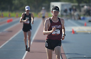 Jun 23, 2019; Miramar, FL, USA; Samuel Allen places second in the 10,000m race walk in 54:08.19 during the USATF U20 Championships at Ansin Sports Complex.
