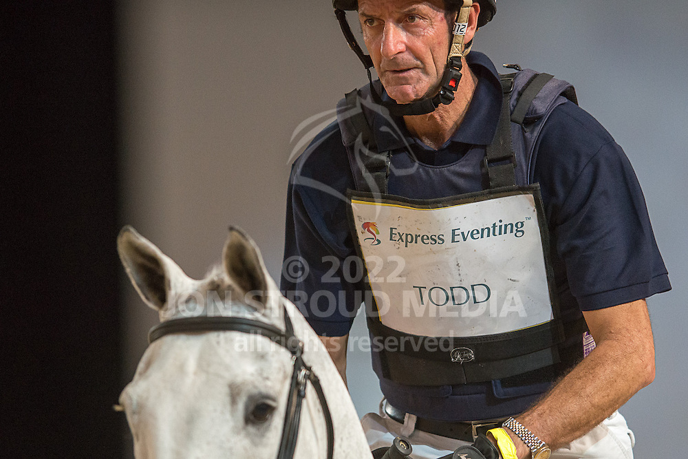 Mark Todd (NZL) & NZB Regent Lad - XC - Express Eventing - Horse World Live - ExCel London - 17 November 2012