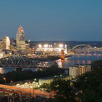Panoramic Cincinnati Skylines