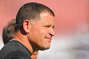 Tampa Bay Buccaneers head coach Greg Schiano during the Buccaneers 27-6 win over the Buffalo Bills at Raymond James Stadium on Dec. 8, 2013   in Tampa, Florida.        ©2013 Scott A. Miller