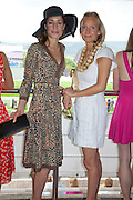 GEORGINA RYLANCE; MARTHA WARD, Glorious Goodwood. Ladies Day. 28 July 2011. <br /> <br />  , -DO NOT ARCHIVE-© Copyright Photograph by Dafydd Jones. 248 Clapham Rd. London SW9 0PZ. Tel 0207 820 0771. www.dafjones.com.