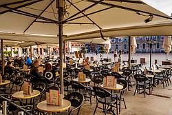 Cafe in the Place du Capitol, Toulouse, France<br /> <br /> (c) Andrew Wilson | Edinburgh Elite media