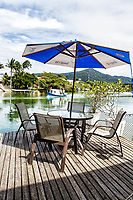 Deck do Restaurante Fedoca, no canal Barra da Lagoa. Florianópolis, Santa Catarina, Brazil. / Deck of Fedoca Restaurant, at Barra da Lagoa Canal. Florianopolis, Santa Catarina, Brazil.