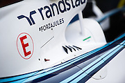 November 21-23, 2014 : Abu Dhabi Grand Prix, Forza Jules written on the Williams engine cover.