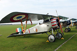 Nieuport 17, (1917)The Great War, 1914-18 Aircraft, , The Duxford Air Show, 14th September 2014
