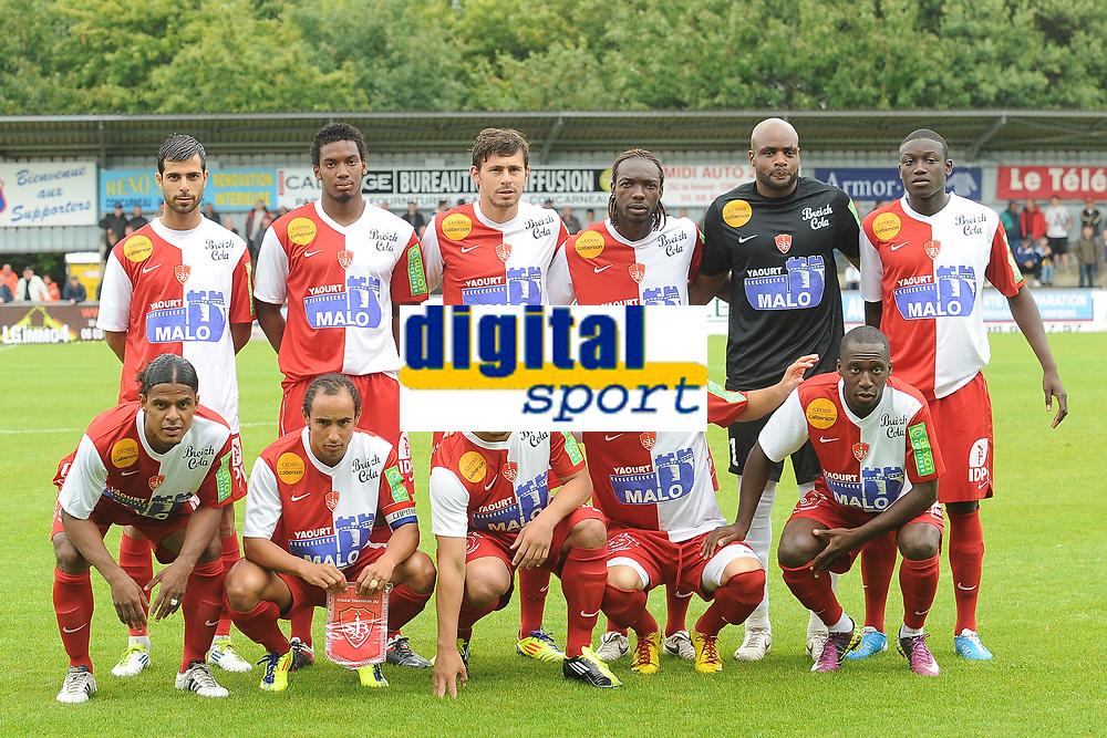 FOOTBALL - FRIENDLY GAMES 2011/2012 - FC LORIENT v STADE BRESTOIS  - 16/07/2011 - PHOTO PASCAL ALLEE / DPPI - TEAM BREST