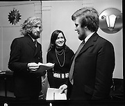Dublin Arts Festival, Press Reception.06/01/1971