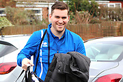 Grimsby Town Manager Michael Jolley arriving for during the EFL Sky Bet League 2 match between Grimsby Town FC and Port Vale at Blundell Park, Grimsby, United Kingdom on 10 March 2018. Picture by Mick Atkins.