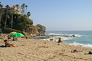 Aliso Beach In Laguna Beach Orange County California