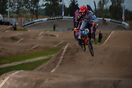 #236 (KIMMANN Niek) NED at the 2014 UCI BMX Supercross World Cup in Santiago Del Estero, Argentina.