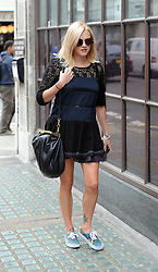 Pregnant Fearne Cotton arriving at BBC Radio 1 in central London. UK. 21/08/2012<br />BYLINE MUST READ : GOTCHAIMAGES.COM<br /><br />Copyright by © Gotcha Images Ltd. All rights reserved.<br />Usage of this image is conditional upon the acceptance <br />of Gotcha Images Ltd, terms and conditions available at<br />www.gotchaimages.com