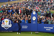 Justin Rose (Eng) during the friday morning fourballs session of Ryder Cup 2018, at Golf National in Saint-Quentin-en-Yvelines, France, September 28, 2018 - Photo Philippe Millereau / KMSP / ProSportsImages / DPPI
