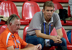 01-10-2014 ITA: World Championship Volleyball Servie - Nederland, Verona<br /> Nederland verliest met 3-0 van Servie en is kansloos voor plaatsing final 6 / Arjen Boonstoppel