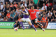 Glenn Rea during the Pre-Season Friendly match between Luton Town and Brighton and Hove Albion at Kenilworth Road, Luton, England on 23 July 2016.