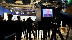 O candidato à reeleição pelo PDT em Porto Alegre, José Fortunati, durante debate na TV COM. FOTO: Jefferson Bernardes/Preview.com