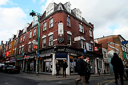 UK ENGLAND LONDON 22MAR14 - Bangladeshi restaurant on Brick Lane in Whitechapel, London's east end.<br /> <br /> jre/Photo by Jiri Rezac<br /> <br /> © Jiri Rezac 2014
