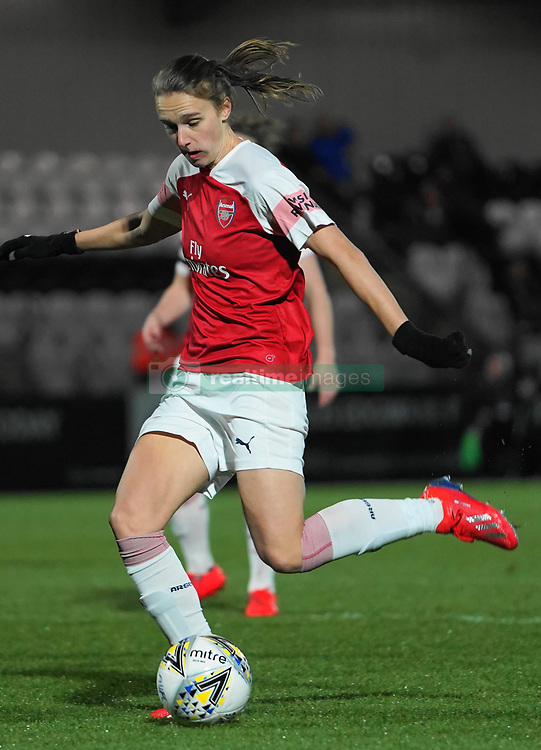 February 20, 2019 - Borehamwood, Hertfordshire, United Kingdom - Vivianne Miedema of Arsenal .during the FA Women's Super League football match between Arsenal Women and Yeovil Town L.F.C.at Meadow Park on February 20, 2019 in Borehamwood, England. (Credit Image: © Action Foto Sport/NurPhoto via ZUMA Press)