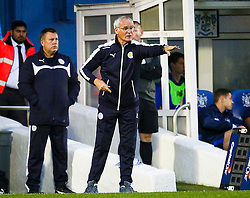 Leicester City Manager Claudio Ranieri gestures - Mandatory byline: Matt McNulty/JMP - 07966386802 - 25/08/2015 - FOOTBALL - Gigg Lane -Bury,England - Bury v Leicester City - Capital One Cup - Second Round