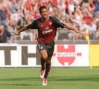 Fotball: 2:0 Jubel Giovane ELBER<br />Bayern München - FC St.Pauli  2:0