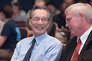 "18408Yuan-Cheng ""Bert"" Fung, recipient of the 2007 Fritz J. and Dolores H. Russ Prize: Lecture in Baker Theater...With Dean Erwin.....Russ Prize winner to speak on biomechanics..Yuan-Cheng ""Bert"" Fung, recipient of the 2007 Fritz J. and Dolores H. Russ Prize, will give a public lecture titled, ?Biomechanics: The Road to Understanding Living Systems,? from 2:10 to 3 p.m. Thursday, Sept. 27, in Ohio University's Baker University Center Theatre.  ..Widely considered the father of modern biomechanics, Fung's diverse research endeavors have formed the basis for the entire field of automotive safety design. They also contributed to the development of artificial skin, improved the effectiveness and longevity of prosthetic devices and enabled the military to develop safer non-lethal weapons and personal body armor. Fung is currently a professor emeritus of bioengineering at the University of California, San Diego, where he founded the bioengineering program...In addition to his public lecture, Fung will also tour Ohio University biomedical engineering labs and meet with Ohio University faculty, leaders, and the Russ College Engineering Ambassadors. ..The late Ohio University graduate Fritz Russ and his wife, Dolores, created the Russ Prize in 1999. The $500,000 award, one of the top three engineering prizes in the world, recognizes engineering achievement that significantly improves the human condition. All Russ Prize winners are invited to give a lecture at Ohio University...Fung's lecture is free and open to the public. A reception will follow outside the theater."
