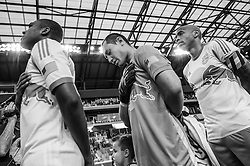 HARRISON, NJ - JUNE 27:  Luis Robles #31 of New York Red Bulls looks on before the match against the Toronto FC at Red Bulls Arena on June 27, 2014. (Photo By: Rob Tringali) Luis Robles
