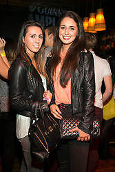 Repro Free: 9/10/2014 Rachel Mahony and Katie Crown pictured at The Odeon, Dublin for the surprise Guinness Amplify Live gig. Music fans in Dublin were treated to an extra special experience as three of most highly acclaimed musicians of 2014, Kidnap Kid, Jess Glynn and Rudimental, played surprise performances. <br /> Guinness Amplify connects the freshest new music talent with audiences all over the country, as well as providing them with some of the resources and industry expertise they need to help them along the way. Picture Andres Poveda<br /> <br /> Full details of the Guinness Amplify programme are available on www.guinnessamplify.com.  Enjoy Guinness Sensibly. Visit www.drinkaware.ie<br /> ENDS<br /> For further information please contact:                                                                              <br /> Julie Blakeney, WH, on 0863420794 or Kristin Fox, WH, on 0872211916